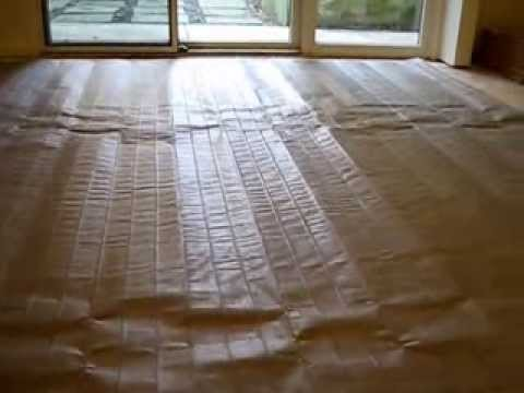 How To Install Nuheat Electric Radiant Heat Blanket Under
