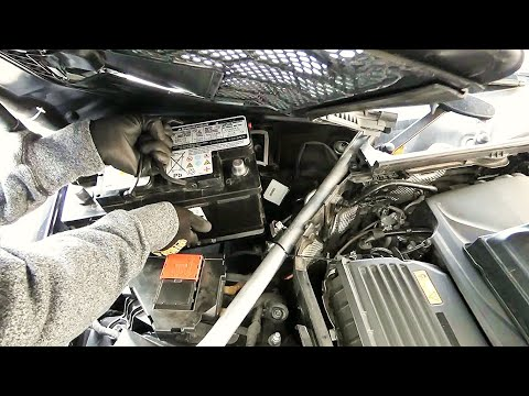 How to Replace Battery in Mercedes-Benz C300 W205  and E300 W213