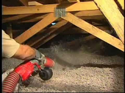 Cellulose insulation how to install blown insulation b for Blow in insulation vs batts