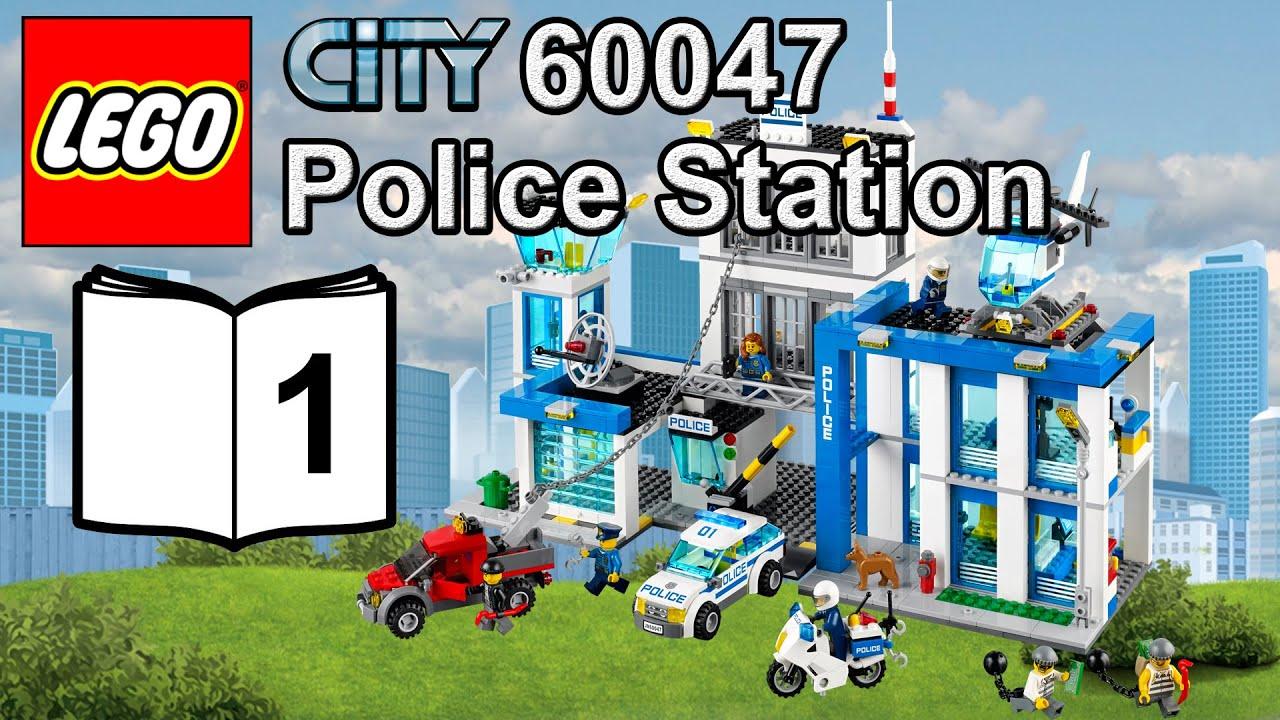 lego police station 60047 instructions