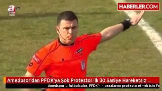 Amedspor Fenerbahçe maçı protesto
