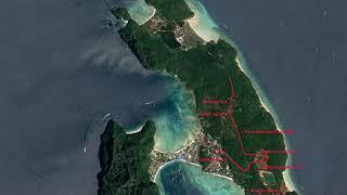 Сквозь джунгли. Маршрут передвижения, остров Пхи Пхи(Phi Phi).
