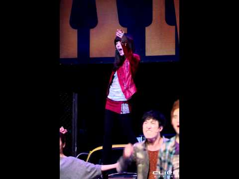 [FanCAM] 120122.Musical FAME.CurtianCall.SNSD.Tiffany.오후2시공연