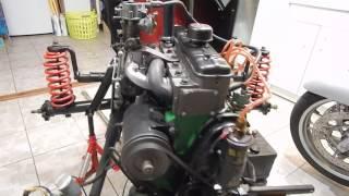 démarrage moteur 4cv