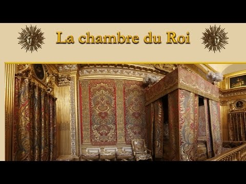 la chambre du roi louis xiv versailles youtube. Black Bedroom Furniture Sets. Home Design Ideas