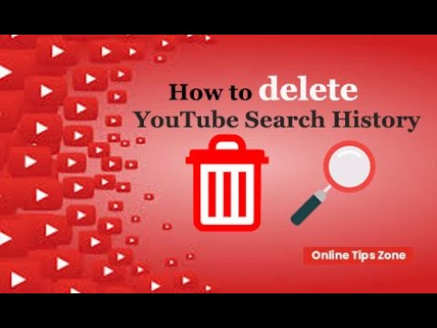 How to clear YouTube saearch History