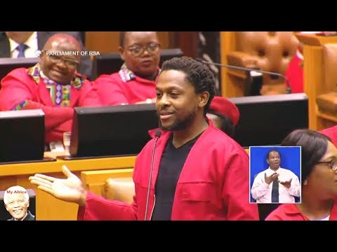 Chaos In Parliament. Angry Lekota vs EFF On Land Reform