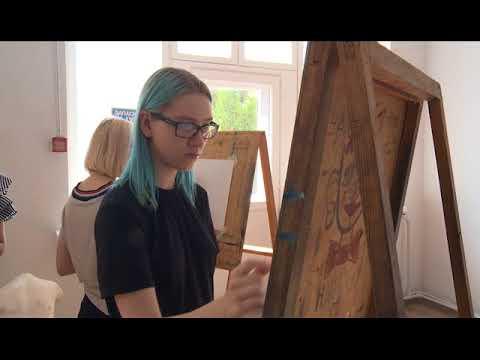 Приём в художественное училище