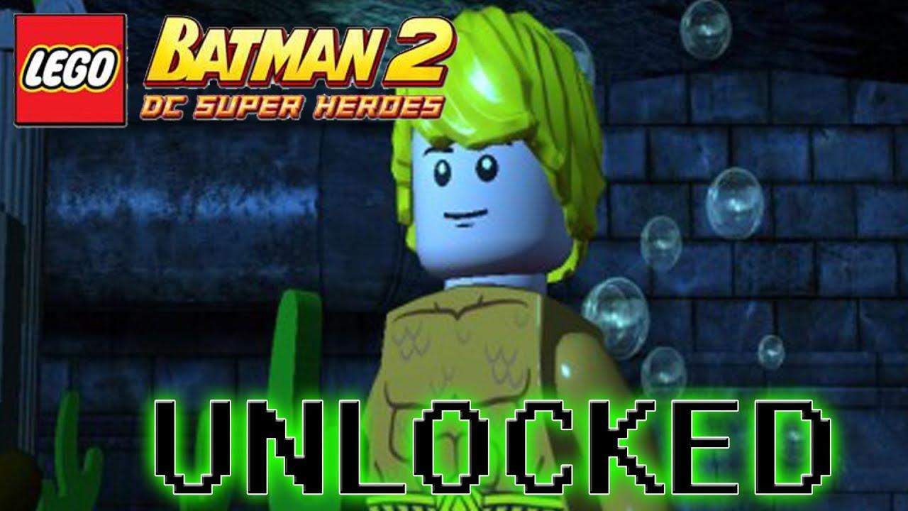 Lego Batman 2 Dc Superheroes How To Unlock Aquaman Youtube