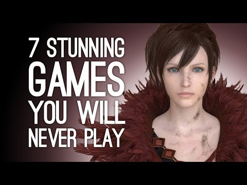 7 Stunning Games You'll Never Get to Play Because They're Not Real