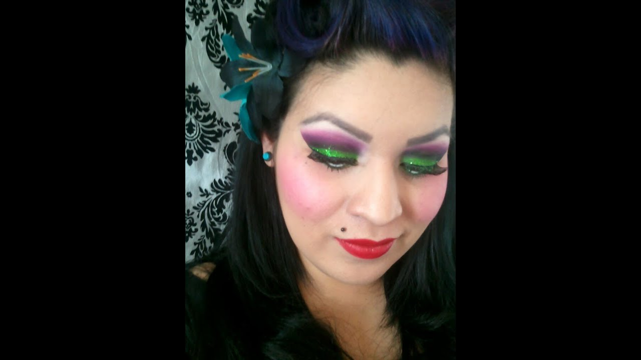 Youtube Makeup Tutorials Popular: My Psychobilly Makeup