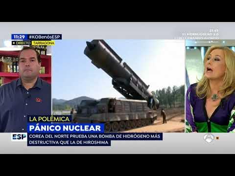 Entrevista a Alejandro Cao de Benós en Espejo Público (4-09-2017).