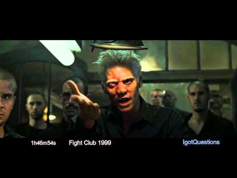 Truth in Movies Decoded 005 Fight Club 1999 (Concave Cell Earth)(Our Matrix Home)