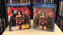 Batman v Superman: Dawn of Justice Blu Ray Unboxing and Review