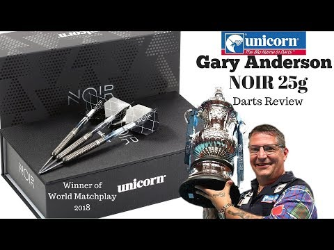 Unicorn Noir Gary Anderson 25g darts review