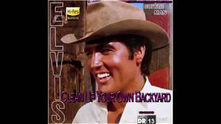 Elvis Presley - Clean Up Your Own Backyard [VINYL Needledrop - 24bit HiRes], HQ