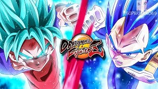"SSGSS GOKU AND VEGETA FIGHT TO THE END! - Dragon Ball FighterZ ""SSGSS Goku"" & ""SSGSS Vegeta"""