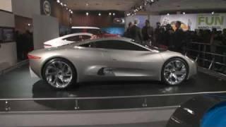 Jaguar Show GVs Press Conf, Stand & Cars New Delhi Auto Expo 2012