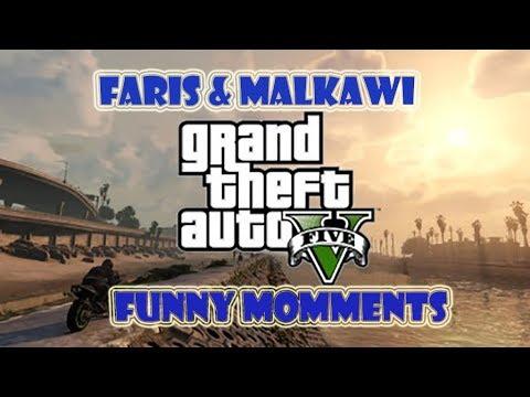 GTA V Funny Momments /(بدنا انروح على الجيش)