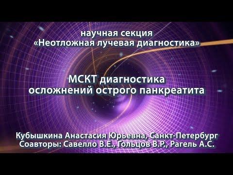 Кубышкина А.Ю. — МСКТ диагностика осложнений острого панкреатита