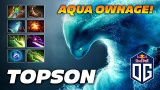 OG.Topson Morphling 8 slotted Water Machine - 31 Frags Ownage - Dota 2 Pro Gameplay