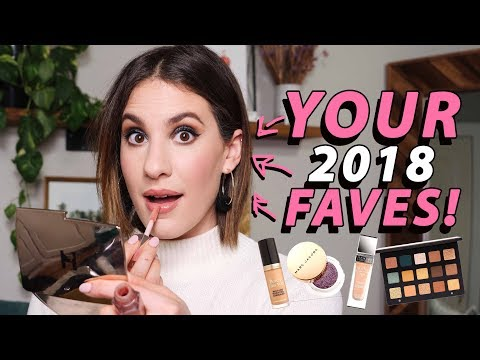 FULL FACE Of My SUBSCRIBERS 2018 Makeup FAVORITES! | Jamie Paige