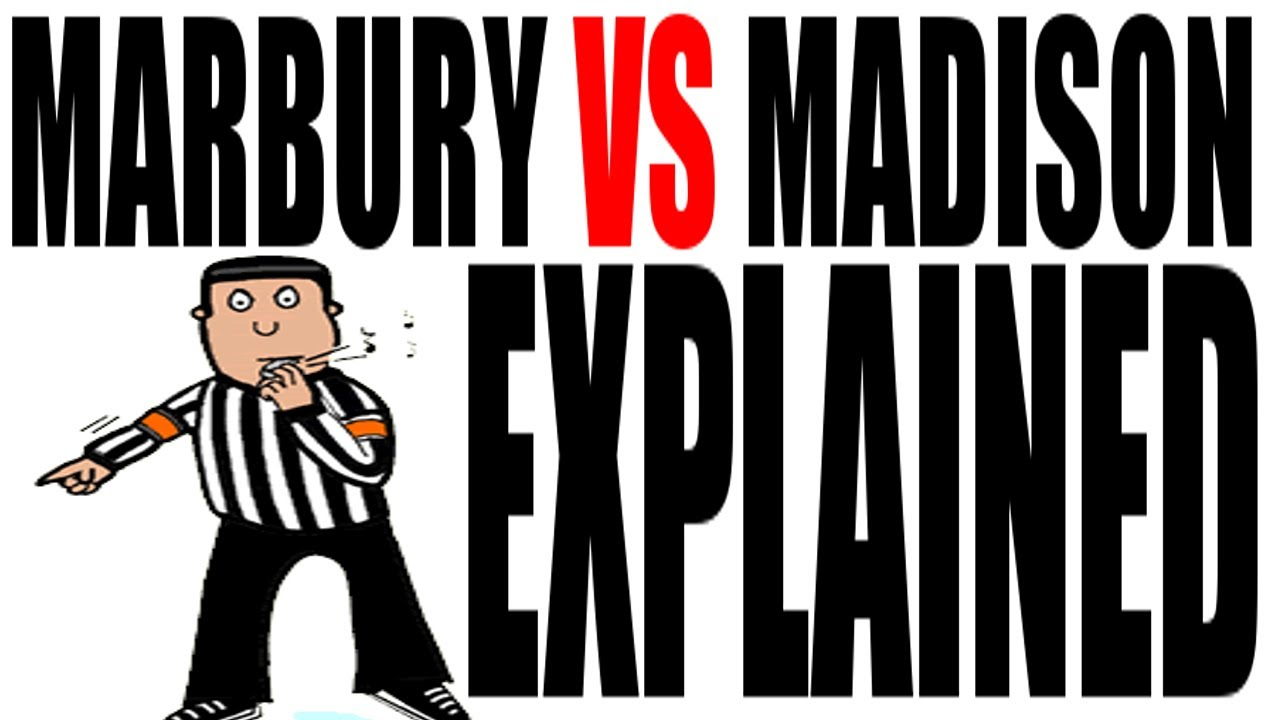 marbury v madison explained us history review
