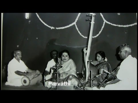 ML Vasanthakumari-Kharaharapriya-Alapane
