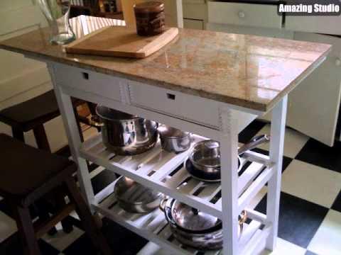 Quick DIY Ikea Forhoja Kitchen Cart Hacks