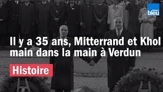 François Mitterrand - Le verbe en images - Mitterrand-Kohl : le Geste de Verdun