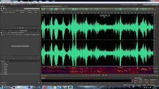 Быстрая нормализация звука в Adobe Audition