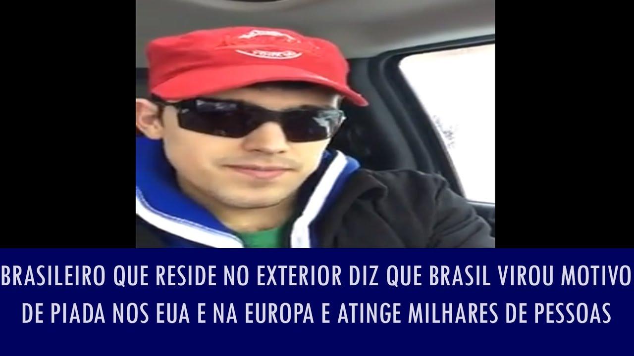 Brasileiro que reside no exterior diz que brasil virou motivo de piada nos eua e na europa e at for Batepapo uol com br brasileiros no exterior