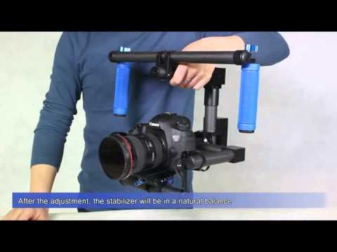 Gyro 2 Axis Stabilizer Demo setup