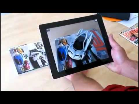 Augmented Reality  - Car Magazine