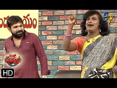 Chalaki Chanti&Sunami Sudhakar Performance | Jabardasth | 4th July 2019 | ETV Telugu