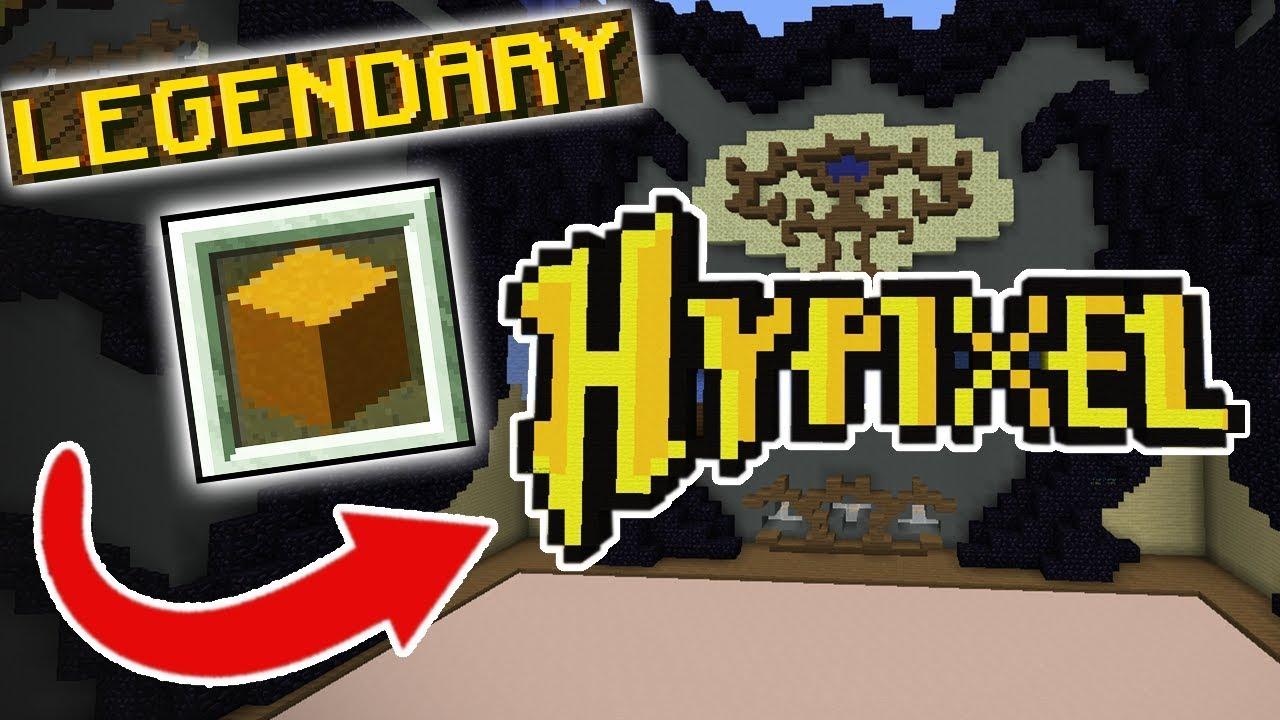 LEGENDARY HYPIXEL (Minecraft Build Battle) YouTube