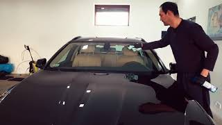 BMW F11 Paint correction, ceramic coat Ultracoat Premium Bond 9H, Interior Detailing