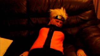 Kakashi and Naruto get drunk.