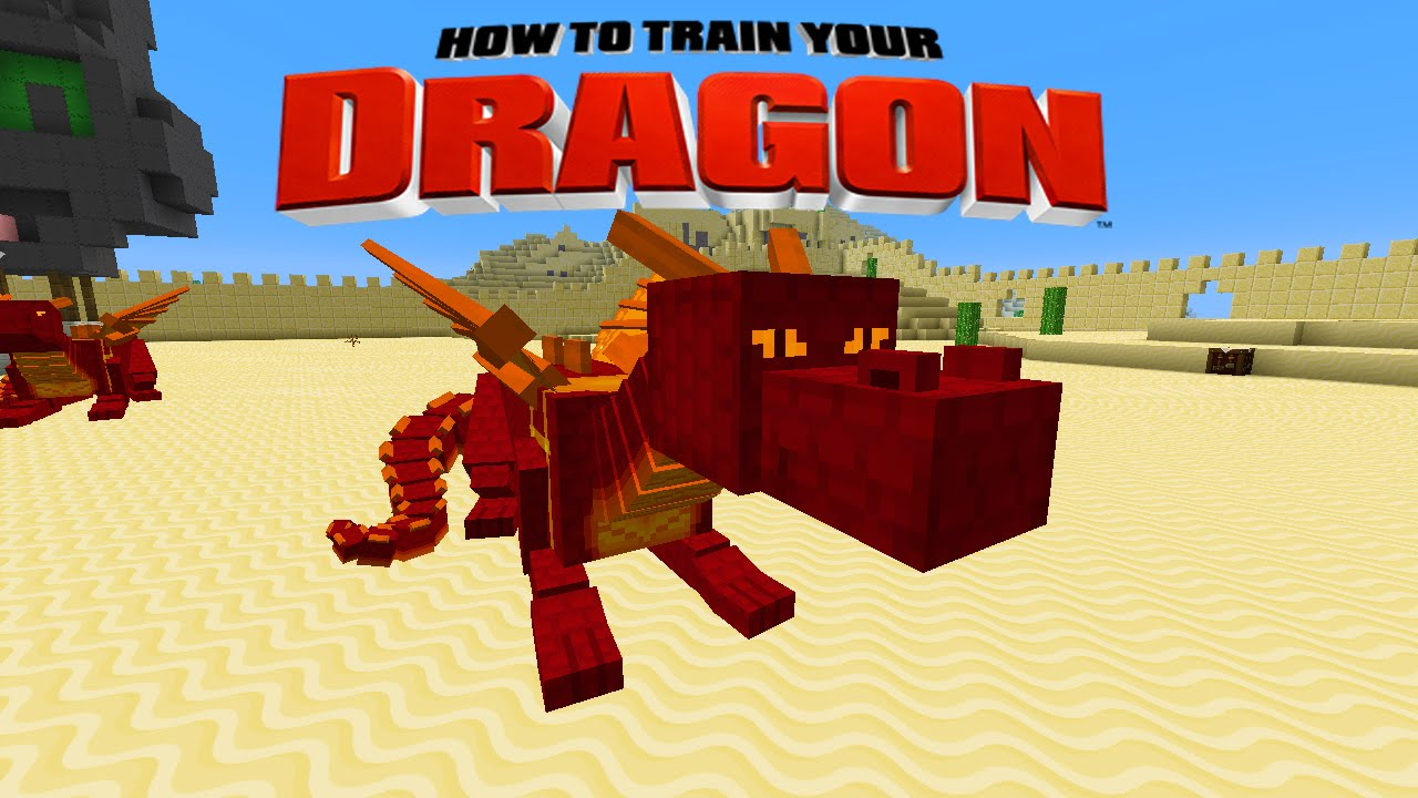 Minecraft - HOW TO TRAIN YOUR DRAGON - Fire Dragons! [39] - YouTube