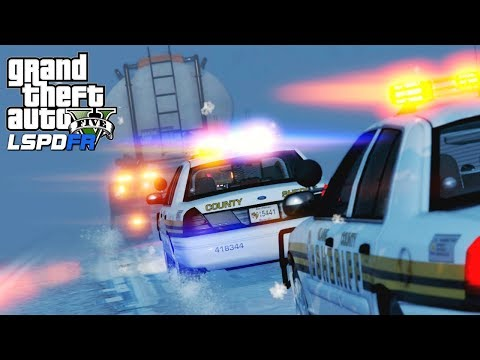 GTA 5 Police Mod | LSPDFR #131 - Storm Of The Century