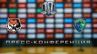 07.01.2018 / Amur - Yugra / Press Conference