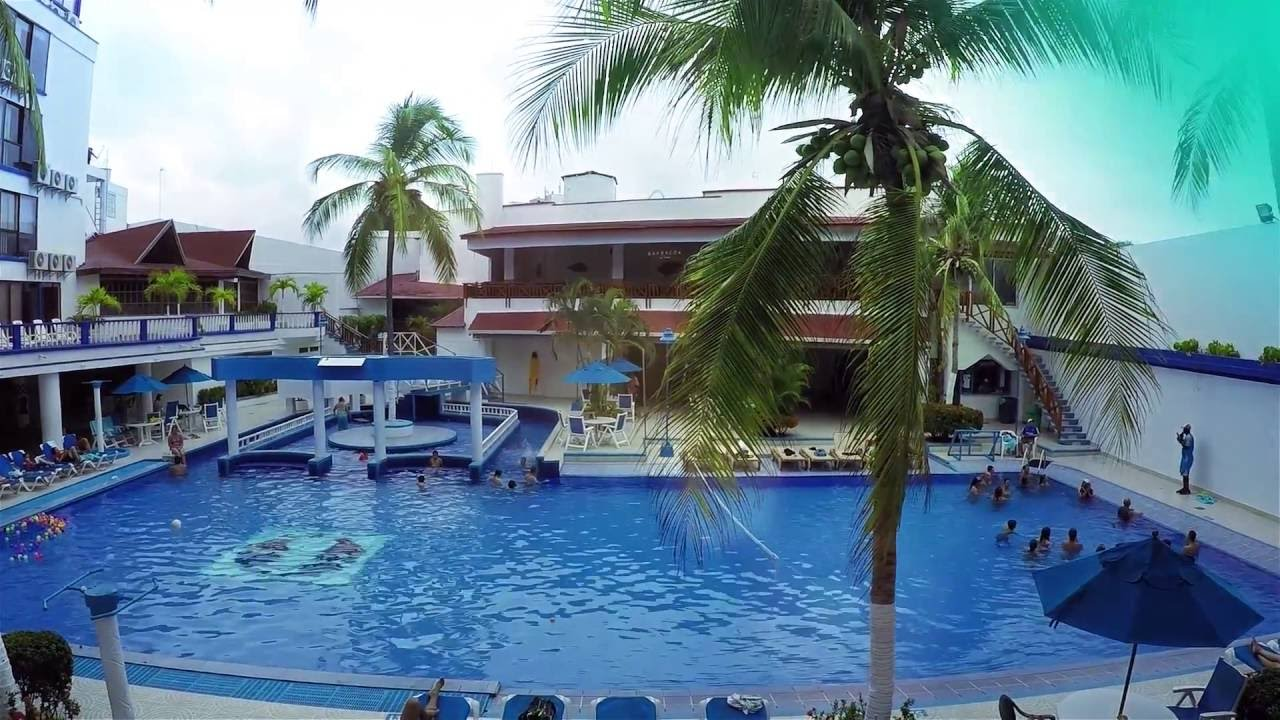 Hotel sol caribe san andr s colombia youtube for Sol caribe sea flower san andres