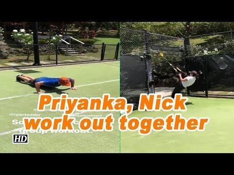 Priyanka Chopra, Nick Jonas work out together Mp3
