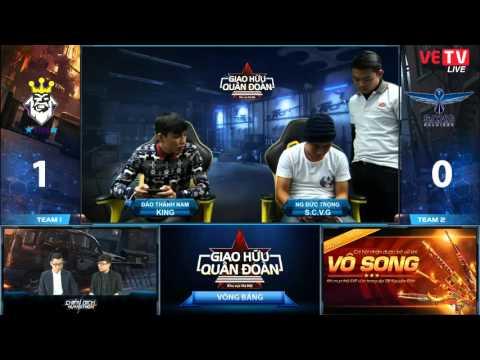 [GHQĐ - HN] Vòng Bảng: KING vs S.C.V.G - 2/2/2016