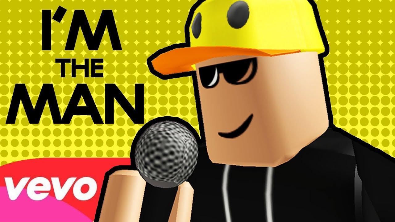 Vuxvux I M The Man Roblox Rap Music Video Youtube