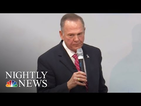 Roy Moore Refuses To Drop Out, Despite Mounting Opposition   NBC Nightly News