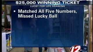 Lucky for Life Winning Ticket Drawn in Rhode Island