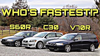 Volvo Straight Line Speed Test: Sibling Rivalry Part 1