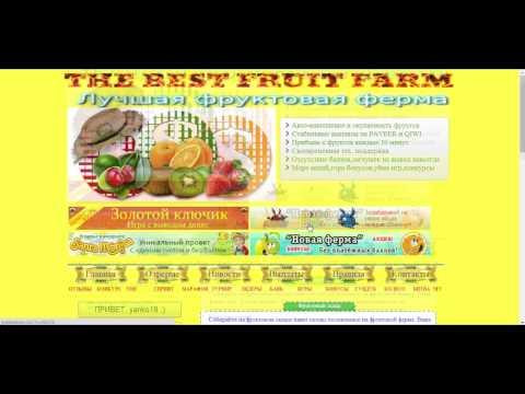 THE BEST FRUIT FARM Лучшая фруктовая ферма----пассивный заработок [HD]