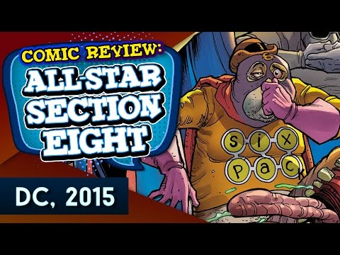 All Star Section Eight Comic Review (Raging G - EN)
